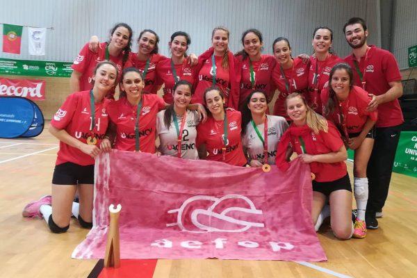 Estudantes de Economia são campeãs nacionais universitárias de Voleibol